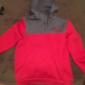 Under armour hooded sweatshirt youth medium